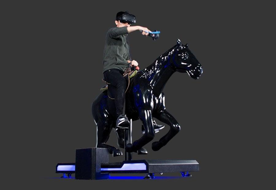 vr horse machine